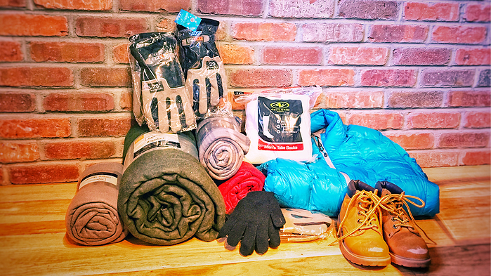 gloves and blanket drive | usaj realty