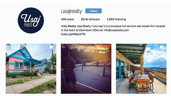usaj realty instagram